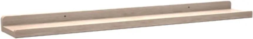 Raft din lemn de stejar, mat, Rowico Metro, lungime 70 cm
