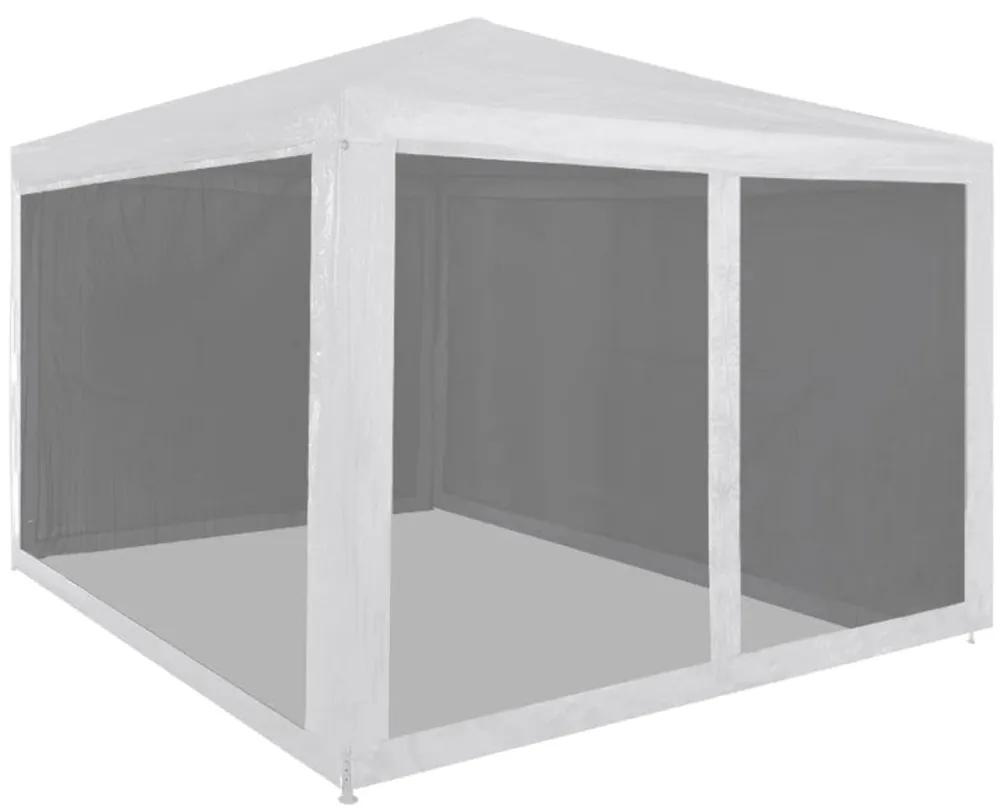 45108 vidaXL Cort pliabil de petrecere cu 4 pereți din plasă, 3 x 3 m