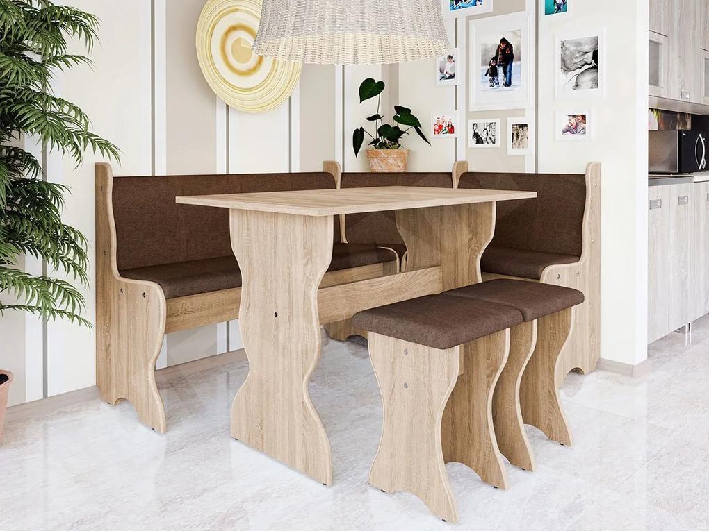 Colțare de bucătărie + Masa cu scaune Samot