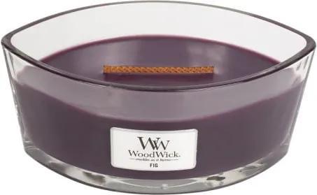 Lumânare parfumată WoodWick, cu aromă de smochine, 453 gr, 50 ore
