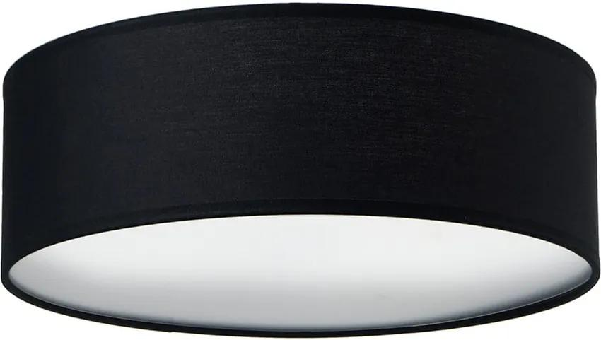 Plafonieră MIKA, negru, Ø 30 cm, negru
