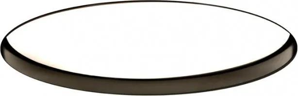 Ohio Negru  19 W 3000 K DALI - Lampă încastrată rotundă din aluminiu pentru birouri