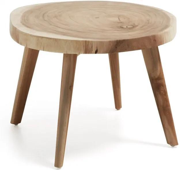 Masa cafea din lemn suar 65 cm Creswell La Forma