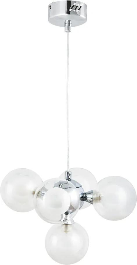 Rábalux Briella 2623 Pendule cu mai multe brate crom alb G9 5x MAX 28W 105 x 31,5 x 31,5 cm