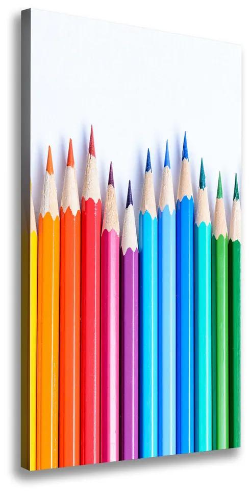 Imprimare tablou canvas Creioane colorate