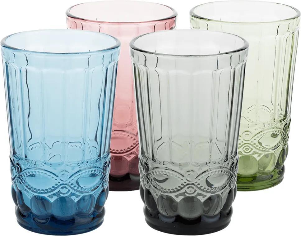 Set de 4 pahare de apă, 350ml, SAVOY TYPE 1