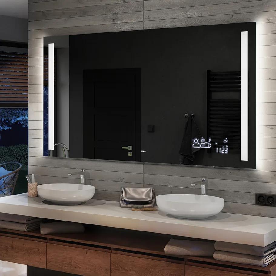 Oglinda baie cu iluminare LED02