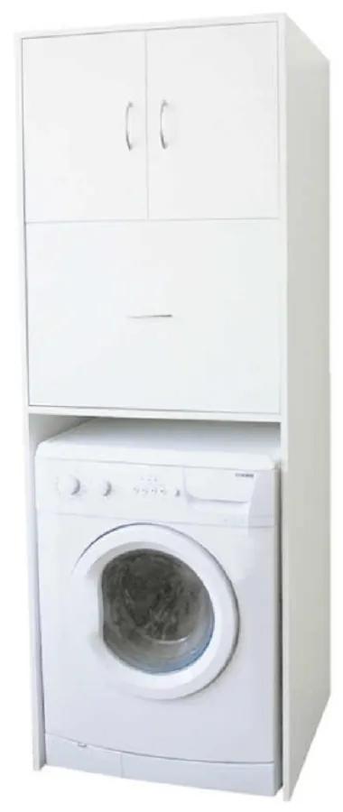 Dulap adânc deasupra maşinii de spălat, alb, NATALI TYP 9
