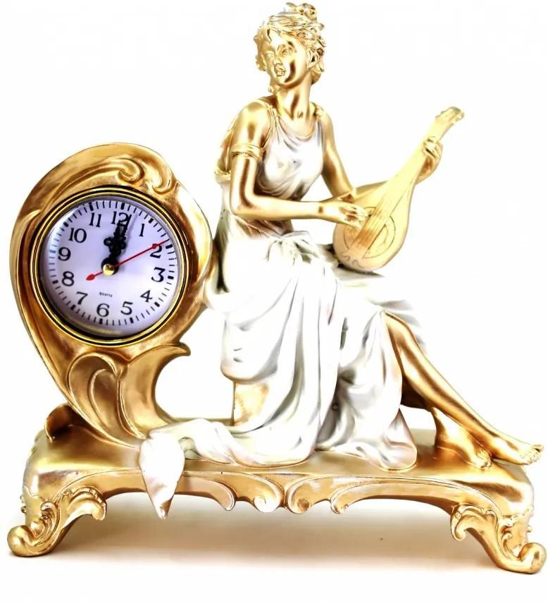 Ceas de masa statueta Mandolina