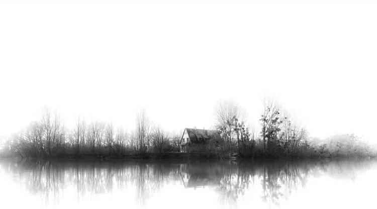 Silence Fototapet, (368 x 254 cm)