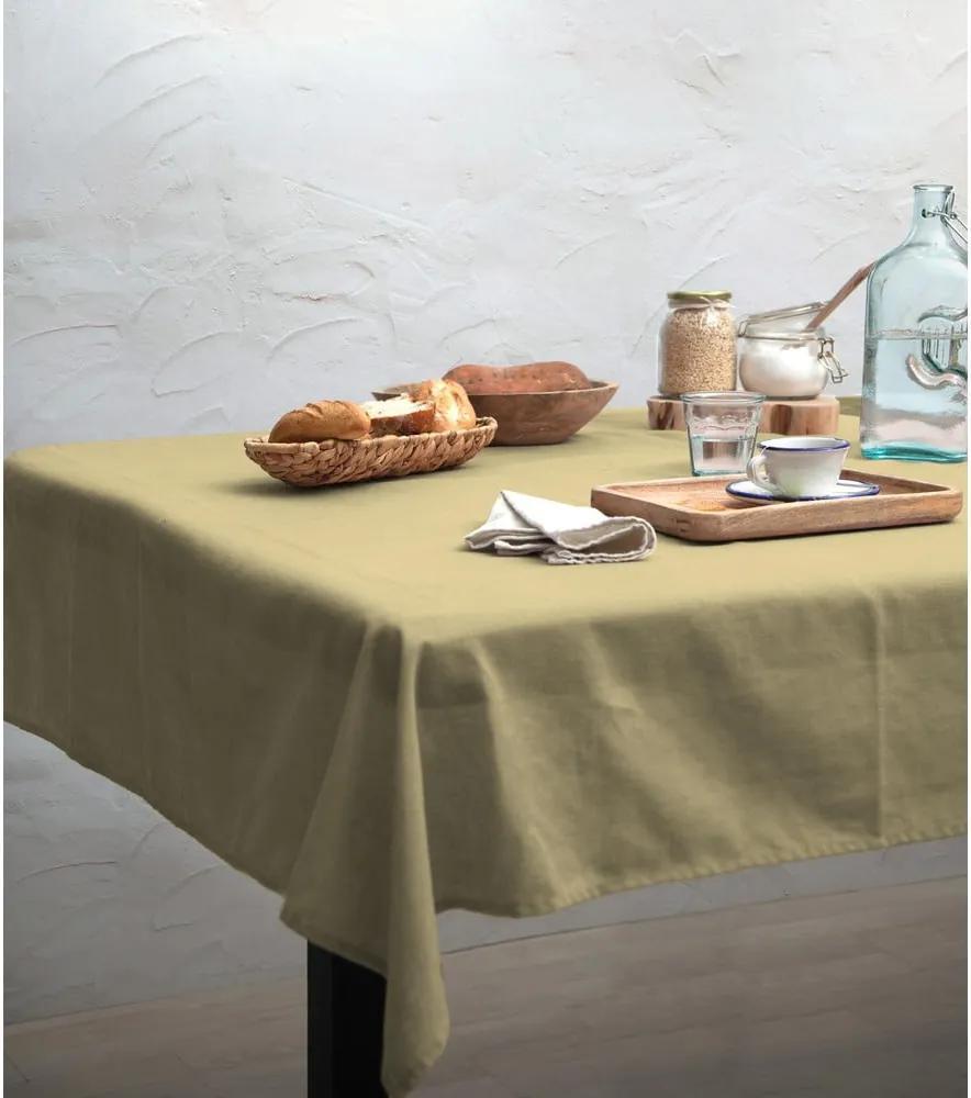 Față de masă Linen Couture Beige, 140 x 200 cm