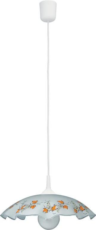 Rábalux Vino 4782 Pendul cu 1 braț alb plastic E27 1x MAX 60W IP20