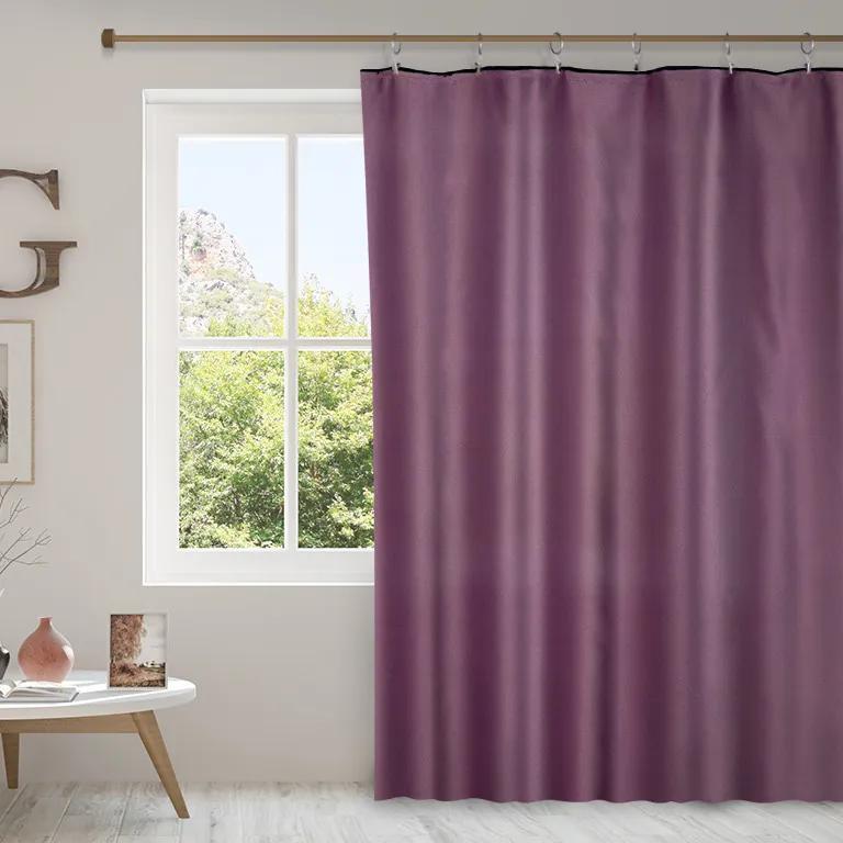 Goldea draperie blackout - bl-14 violet - lățime 300 cm 140x300 cm