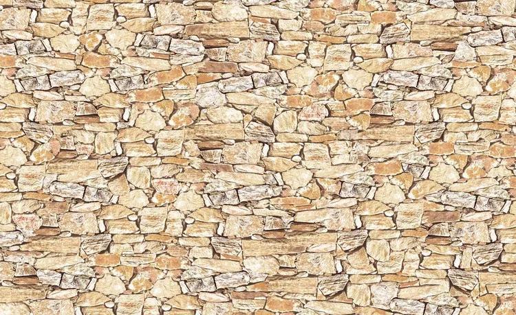 Stone Wall Fototapet, (312 x 219 cm)