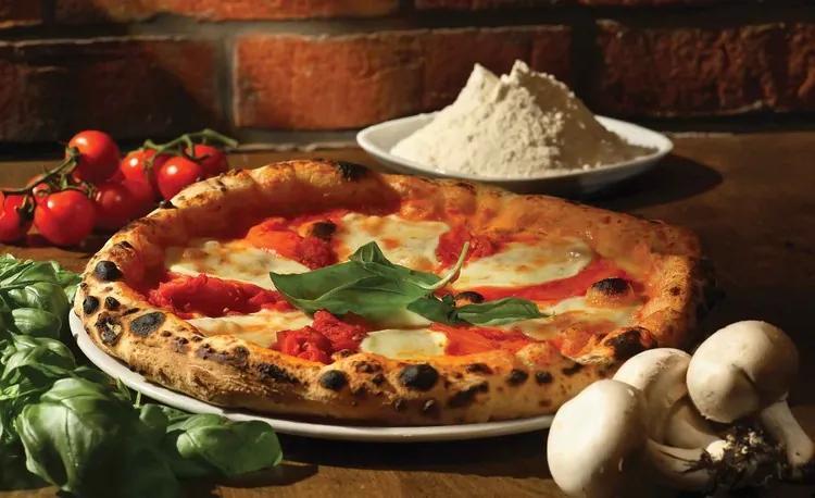 Italian Food Restaurant Fototapet, (152.5 x 104 cm)