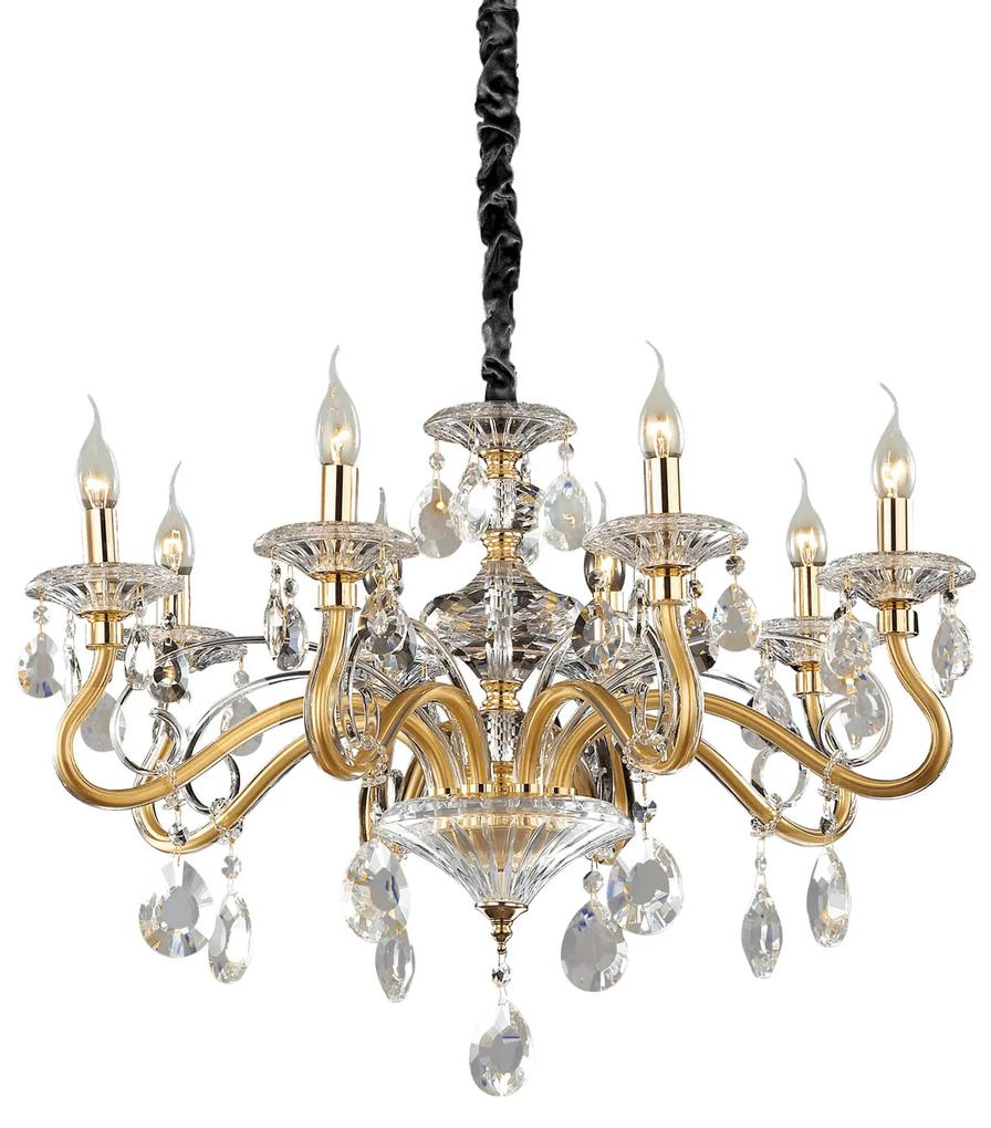 Candelabru-NEGRESCO-SP8-ORO-087764-Ideal-Lux
