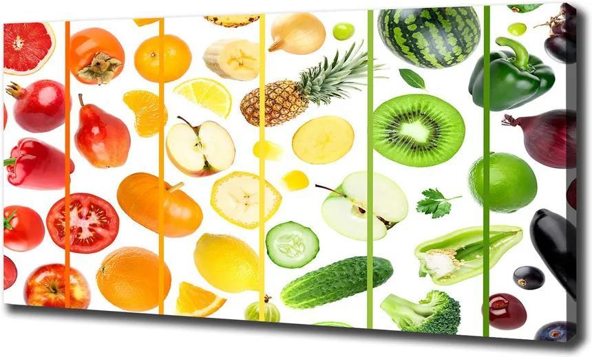 Print pe pânză Fructe si legume
