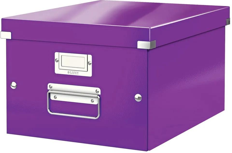 Cutie depozitare Leitz Universal, lungime 37 cm, violet