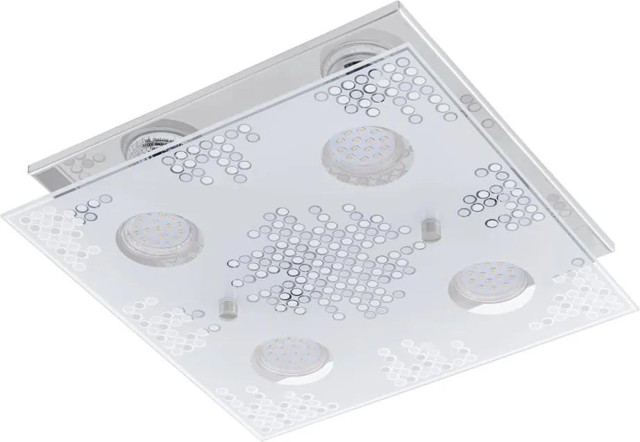 Eglo 75234 - LED Plafoniera TONEON 4xGU10-LED/3W/230V