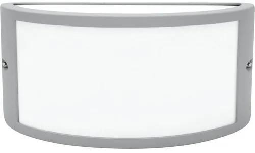 Aplica Leeds E27 max. 1x15W, pentru exterior IP44, argintiu