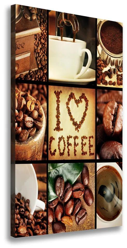 Tablou pe pânză canvas Colaj de cafea