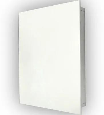 Dulap cu oglinda, 1 usa, 45x60 cm, gri