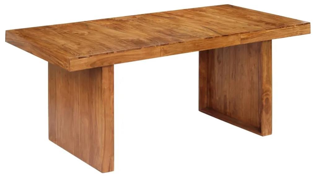 247491 vidaXL Masă de bucătărie, 180 x 90 x 75 cm, lemn masiv de acacia