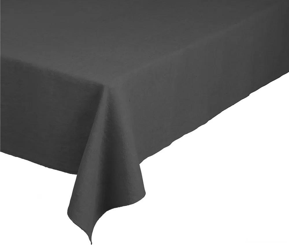 Față de masă din in Blomus, 140 x 260 cm, gri închis