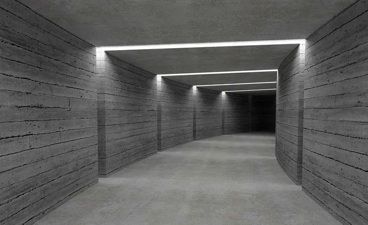 Hallway Ligths Fototapet, (254 x 184 cm)