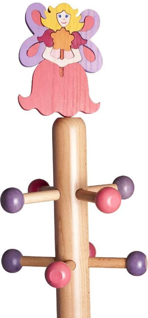 Cuier copii tip pom cu jucărie Zână
