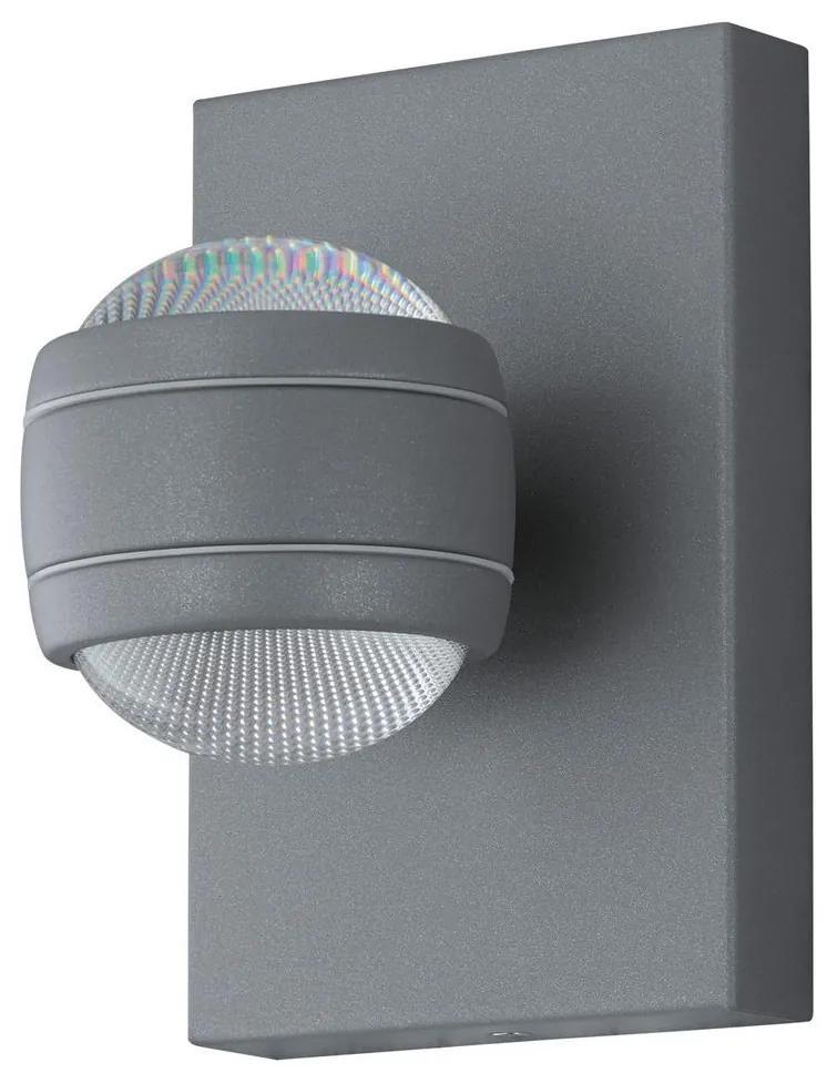Eglo 78592 - LED Aplică perete exterior SESIMBA 2xLED/3,7W/230V IP44