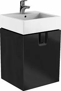 Dulap baza Kolo Twins 50cm, un sertar, negru mat