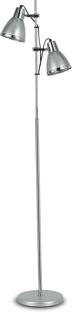 Lampadar-ELVIS-PT2-ARGENTO-042794-Ideal-Lux