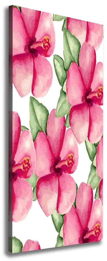 Tablou pe pânză canvas Flori tropicale