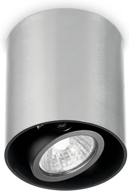 Spot-Aplicat-MOOD-PL1-SMALL-ROUND-ALLUMINIO-140865-Ideal-Lux