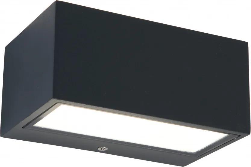 Lutec GEMINI 5189102032 Aplice pentru iluminat exterior alb transparent Seoul 2835 6,5 x 8,85 x 14 cm