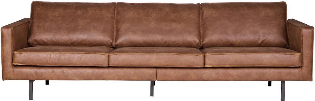 Canapea de 3 locuri Rodeo - Cognac