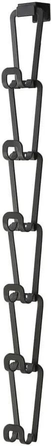 Cuier pentru genți cu 6 cârlige YAMAZAKI Kanazawa, negru