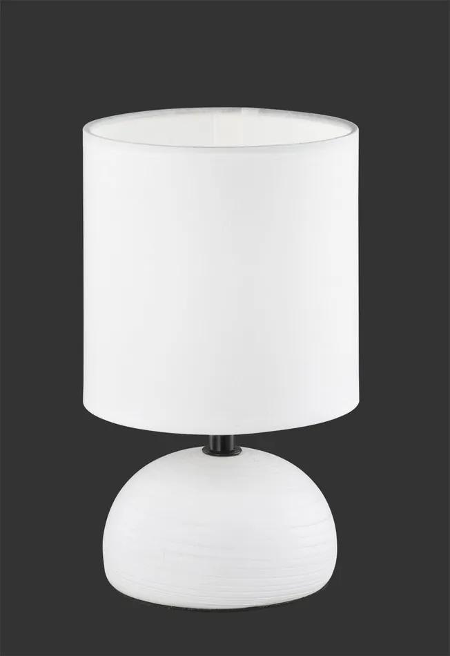 Trio LUCI R50351001 Lampa de masa de noapte alb ceramică excl. 1 x E14, max. 40W IP20