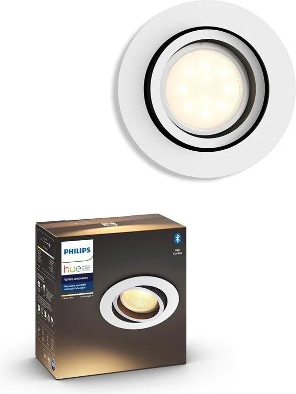 Philips 50411/31/P9 - LED Lampă dimmabilă HUE MILLISKIN 1xGU10/5W/230V