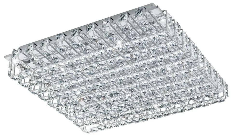 Eglo 94315 - LED Cristal Plafoniera LONZASO 16xLED/3,3W/230V