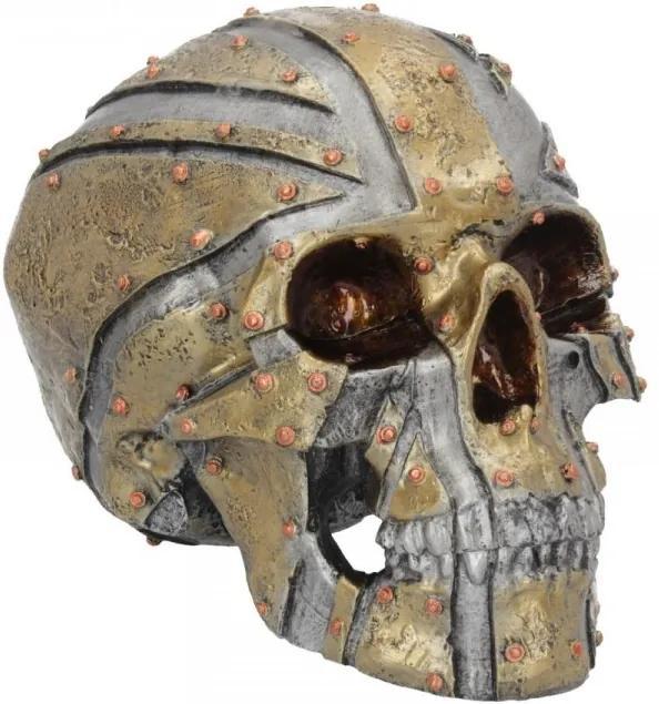 Statueta craniu Uniunea de Fier 19 cm