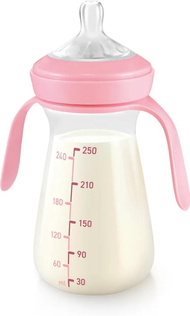 Sticlă Tescoma PAPU PAPI 250 ml, roz