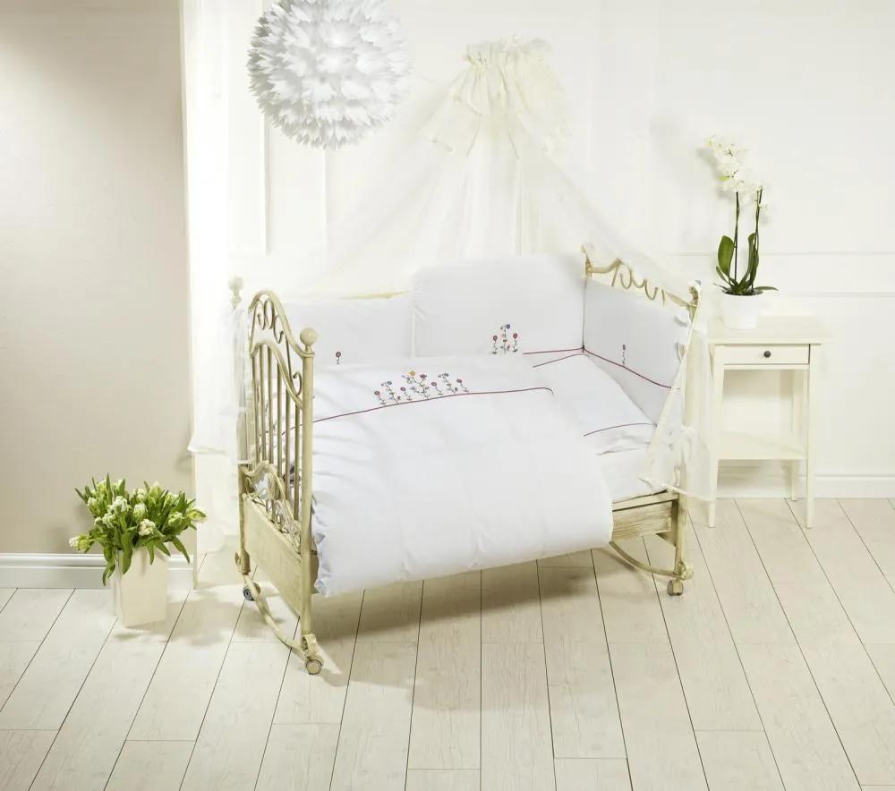 Lenjerie de pat Feretti Duetto Vintage Flowers White
