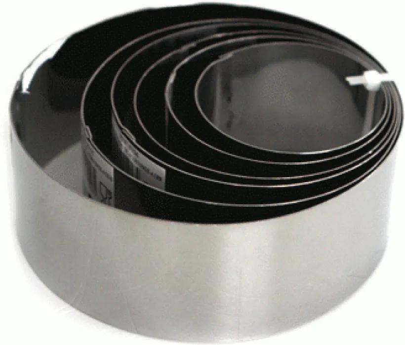 Set 6 forme inox rotunde copt prajituri 0198273 6cm 7cm 8cm 9cm 10cm 12cm