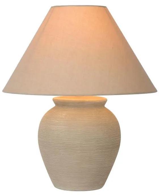 Lucide 47507/81/38 - Lampă de masă RAMZI 1xE27/60W/230V