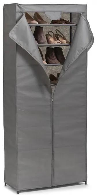 Dulap textil pentru pantofi Zeller, 66x30x156 cm
