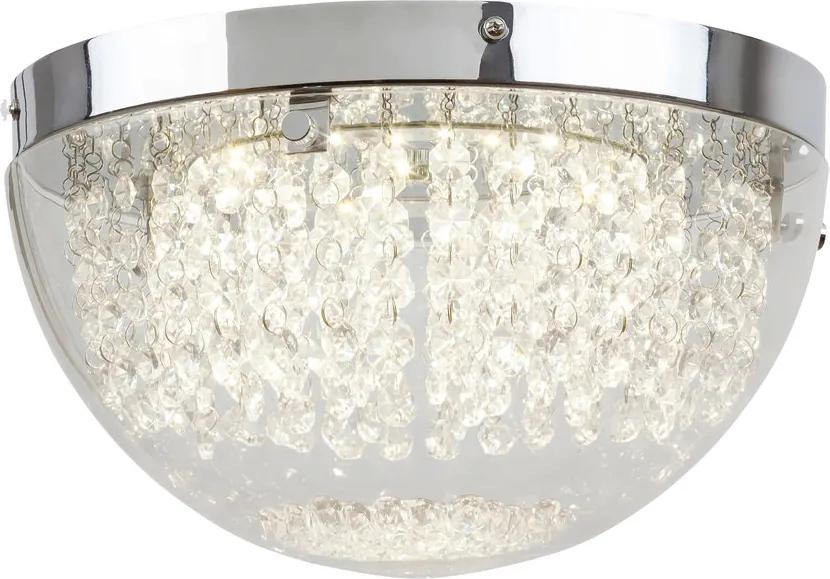 Rábalux 2505 Plafoniere cristal Nyssa crom metal LED - 1 x 12W 805lm 4000K IP20 A