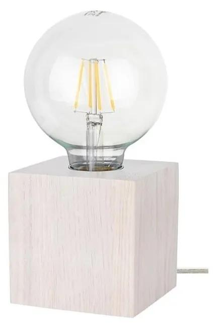 Spot-Light 7171032 - Lampă de masă TRONGO SQUARE 1xE27/25W/230V