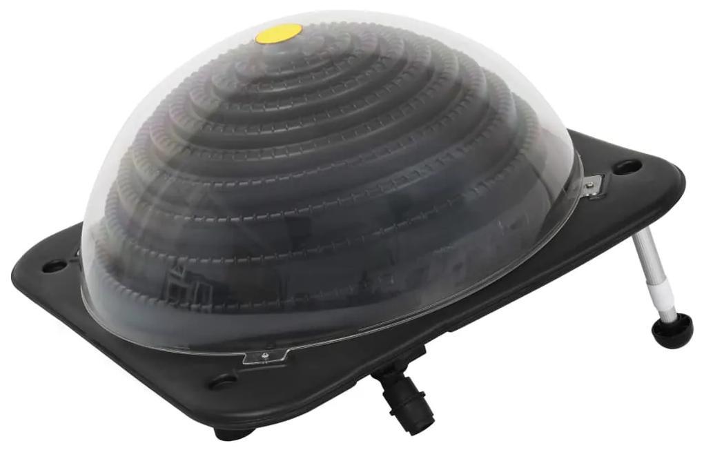 91734 vidaXL Încălzitor solar pentru piscină, 75 x 75 x 36 cm, HDPE aluminiu